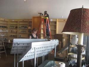 David bookcase