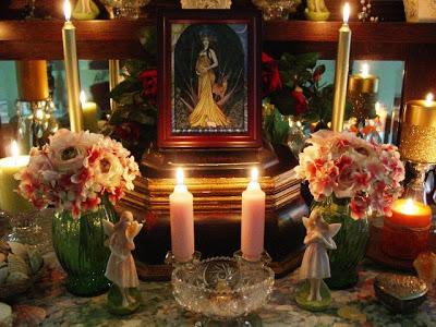 Altar below