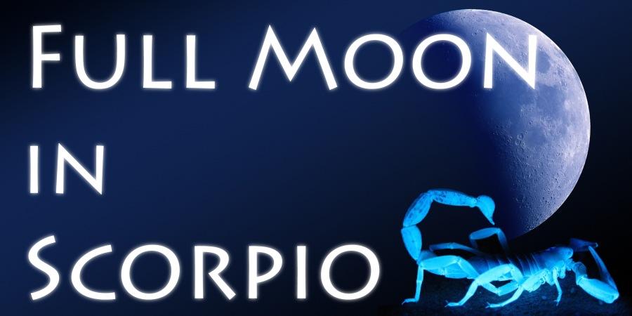 Sun in Taurus – Full Moon inScorpio