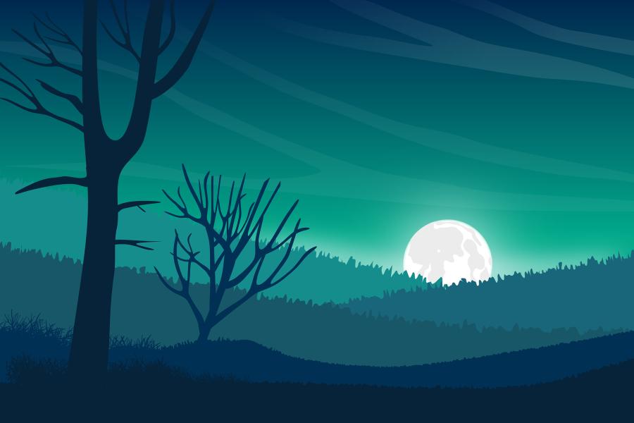 Lean Into the Full Moon inLibra